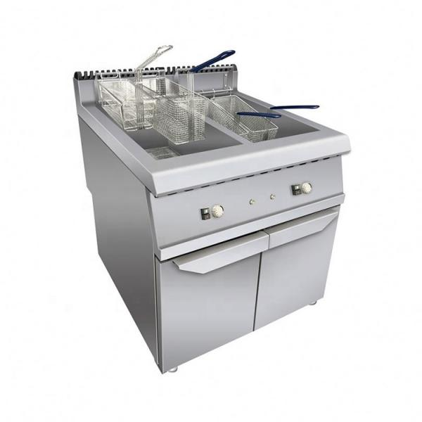 Commercial Fish Potato Plantain Chips Fats Fryer Frying Machine Electric Turkey Industrial Deep Fryer #1 image